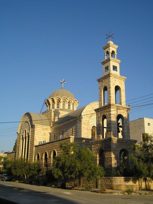 catedral stos apóstoles Pedro y Pablo en Damasco