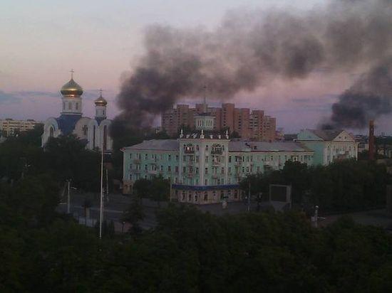 iglesia dañada lugansk 20 de agosto