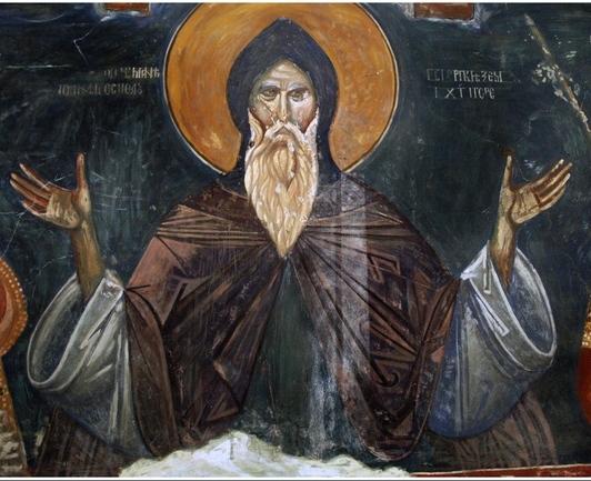 Sveti-Simeon-stefan-Nemanja-freska-Ljeviska-crkva-Prizren