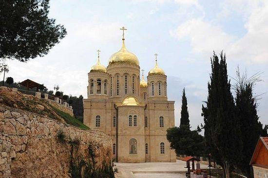 intento de robo monasterio ruso jerusalén