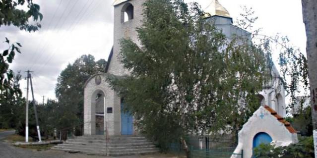iglesia saqueada en ucrania