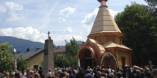 consagración en austria de capilla dedicada a los cosacos caídos en guerra